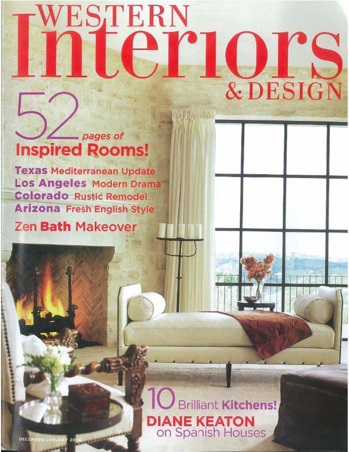 Superb Western Interiors U0026 Design 2008 12 01