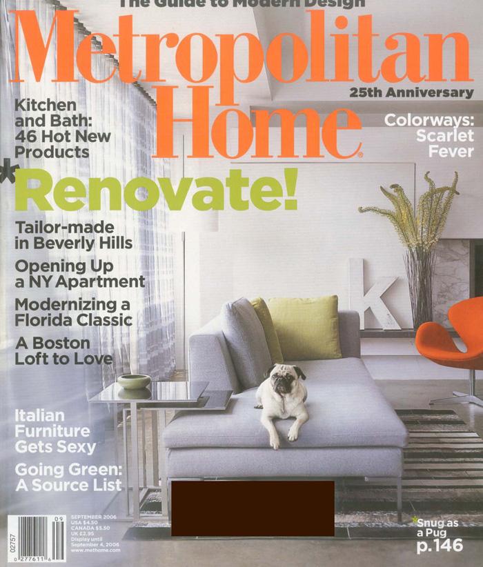 MANSOUR PRESS - Metropolitan Home | 2006-09 | COVER