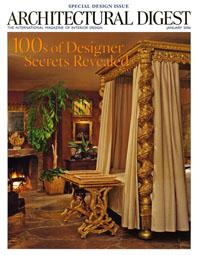 Architectural Digest 2006 01