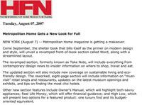 Home Furnishings News 2007 07