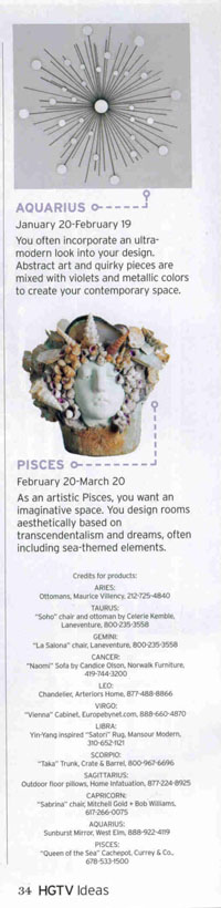 HGTV Ideas 2007 Spring