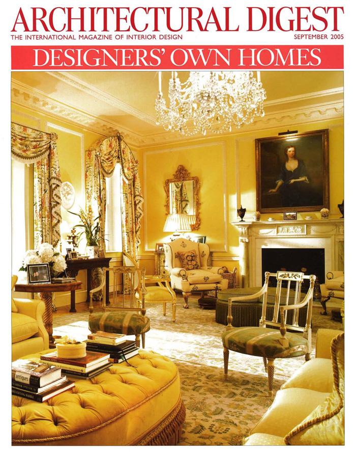 Architectural Digest 2005 09