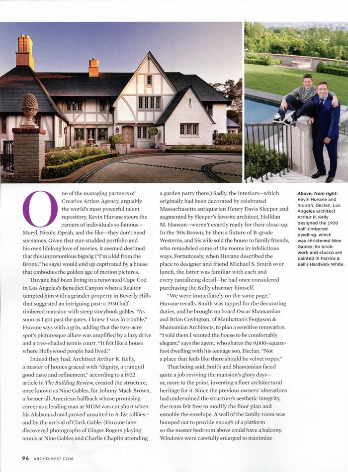 Architectural Digest 2012 07